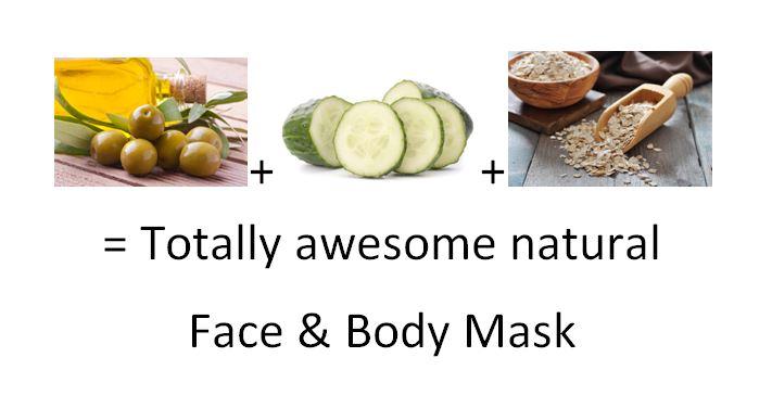 cucumber olive mask