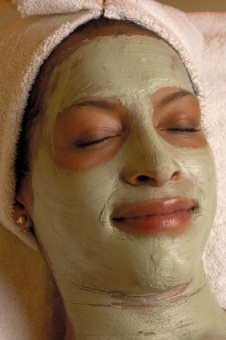 spa salon aroma facial masque