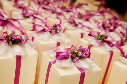 wedding  favors and present