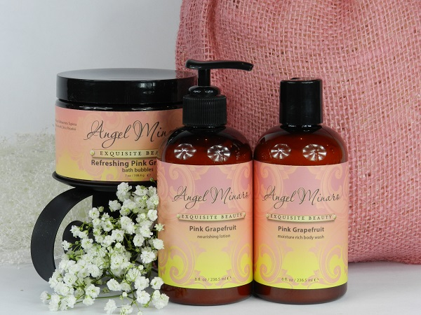 Pink Grapefruit pampering set 600 pixels