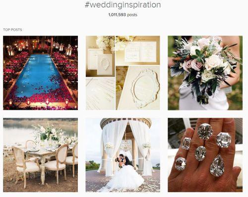 Instagram wedding inspiration
